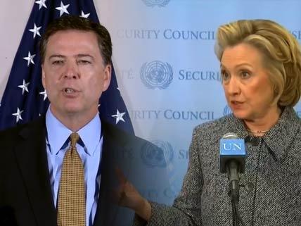 Comey vs. Clinton