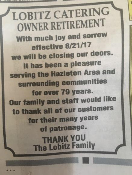 Lobitz Retirement