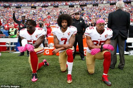 sjfl kneel protest