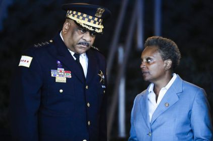 Eddie Johnson Lori Lightfoot