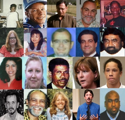 Beltway snipers victims