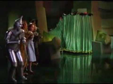 Behing the curtain wizard of OZ