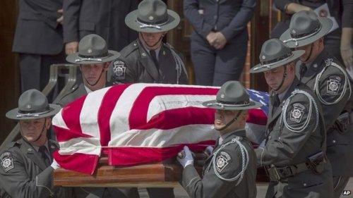 Cpl. Bryon Dickson II Funeral