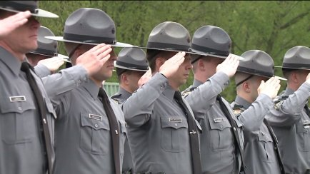 State Police Memorial Day in Wyoming