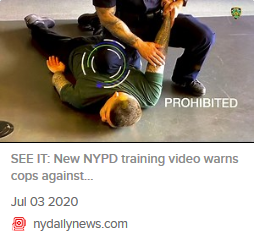 2020-07-17 NYPD training video warns cops
